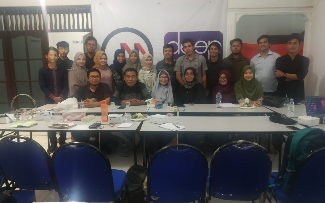 Yayasan Visi Nusantara Maju adakan workshop dengan tema How to attrack donor to finance your project?