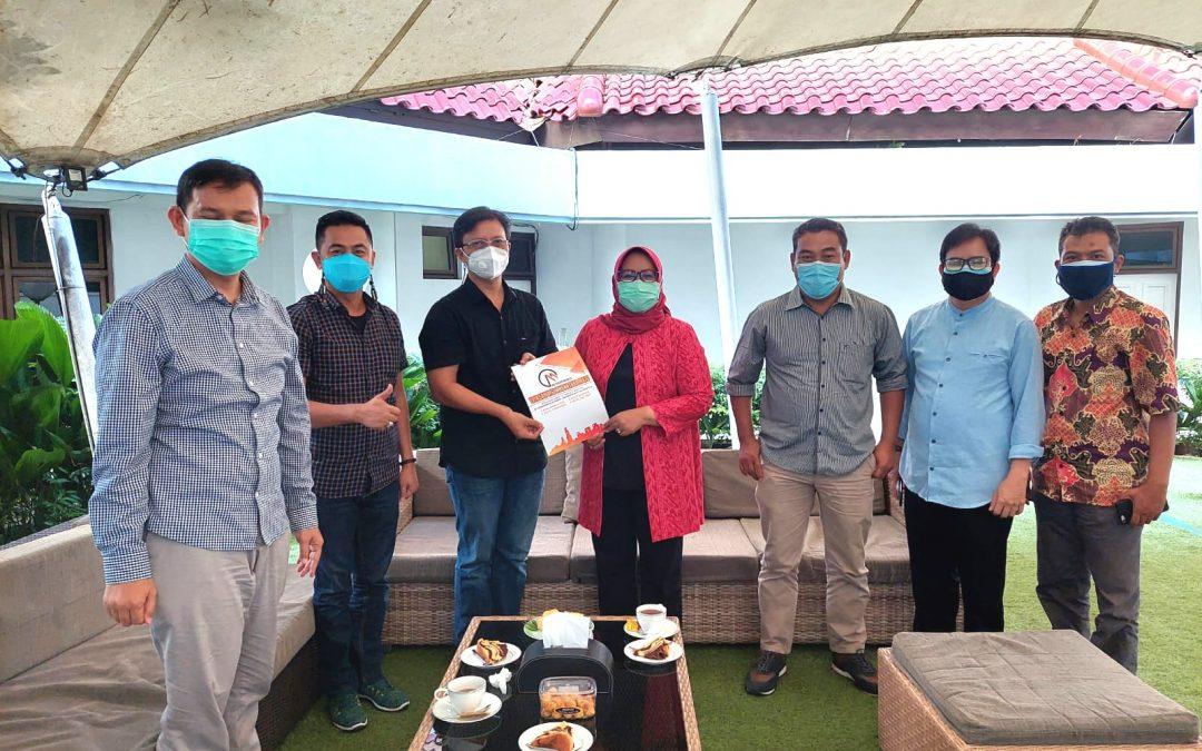 Silaturahmi Pimpinan ITB Vinus ke Kediaman Bupati Bogor